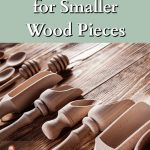 Small wooden turned kitchen items