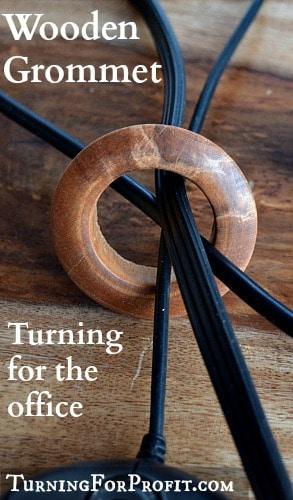 Wooden Grommet - Pin