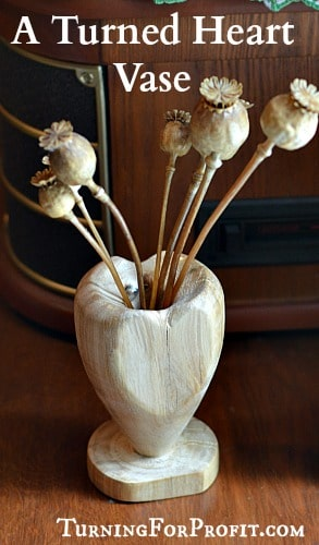 Garden: A heart vase for your flowers.