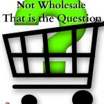 shopping cart icon with a question mark inside