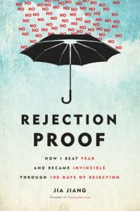 """book cover """"Rejection Proof"""" by Jia Jiang"""