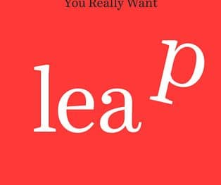 """Book cover """"Leap"""" by Tess Vigeland"""