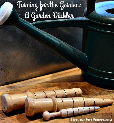 A Garden Dibbler can measure the correct depth to plant seeds and how far apart to space them apart. Easy to use and to turn. Needed in every garden.