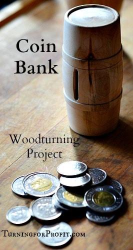 Coin Bank Pin
