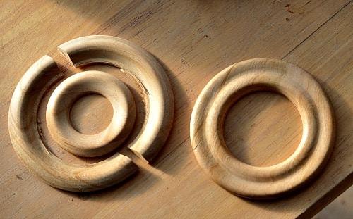 Shawl PIns - Good and broken rings