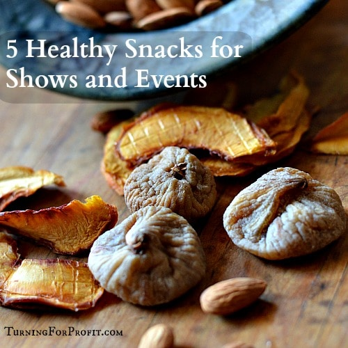 Healthy Snacks for Shows and Events