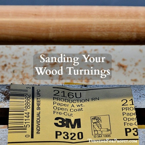Sanding paper and a rolling pin