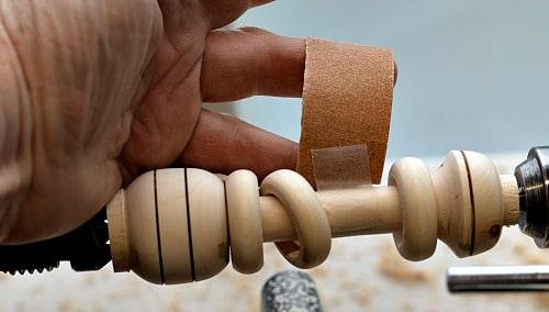 Captive Ring Tool - Attaching sandpaper