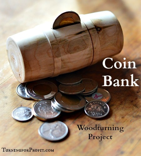wooden barrel coin bank