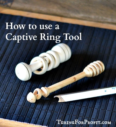 Captive Ring Tool can help you make captive rings on your spindle projects.