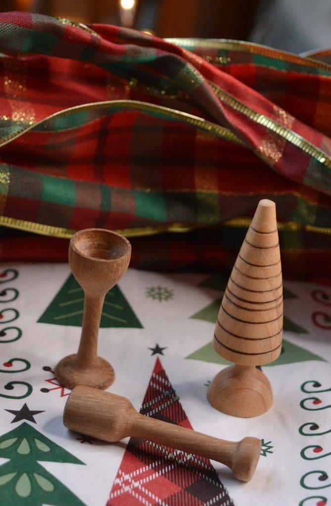 3 Mini Christmas Decorations