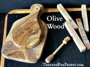 Olive Wood, honey dipper, pen blanks, and olive platters