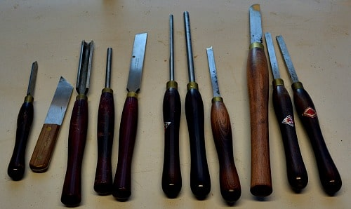 Prepare Your Shop - My turning tools