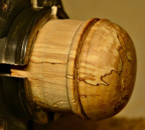 lidded box - completing the outside of the cap
