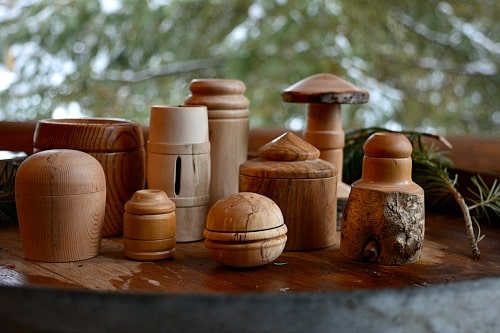 As your skill grows you can turn lots of variations on a theme like these lidded boxes