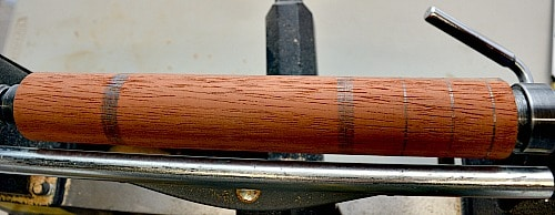 To help with your projects mark out the different sections like the handle and the head of the muddler.