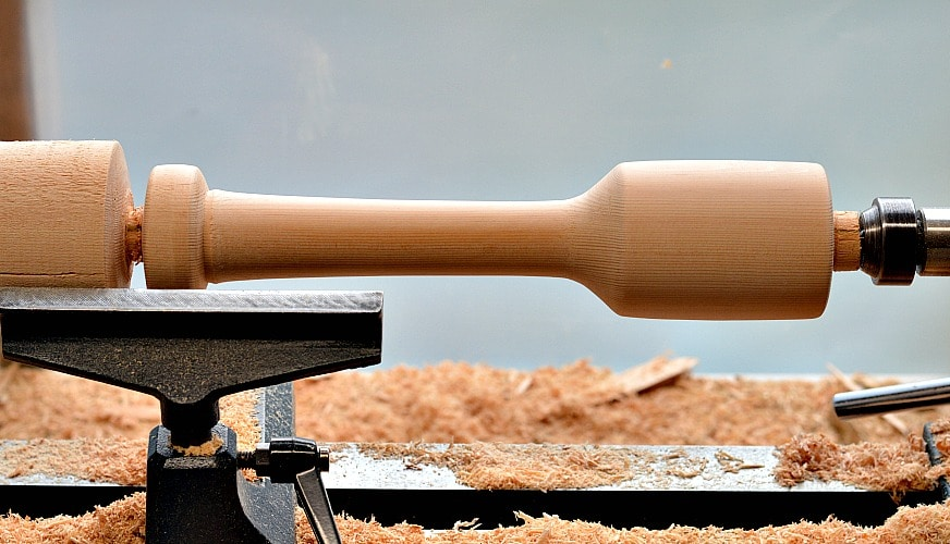 A kraut pounder could be a good initial project but there is a lot of wood spinning here and safety is top priority