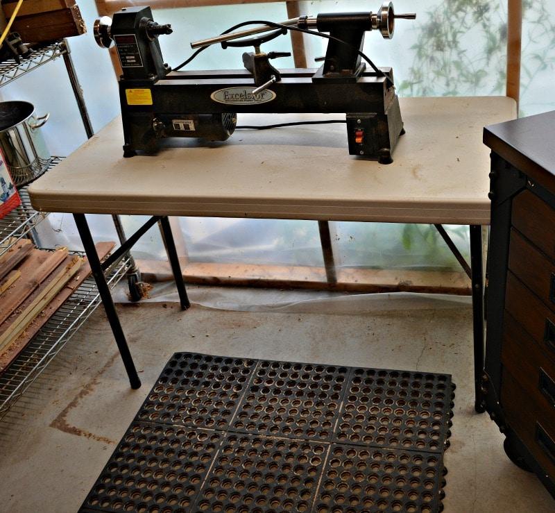 Woodturner Shop Safety floor mats