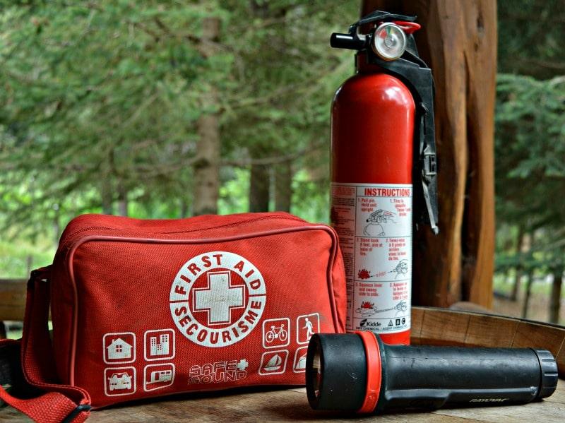 Woodturner Shop Safety Equipment