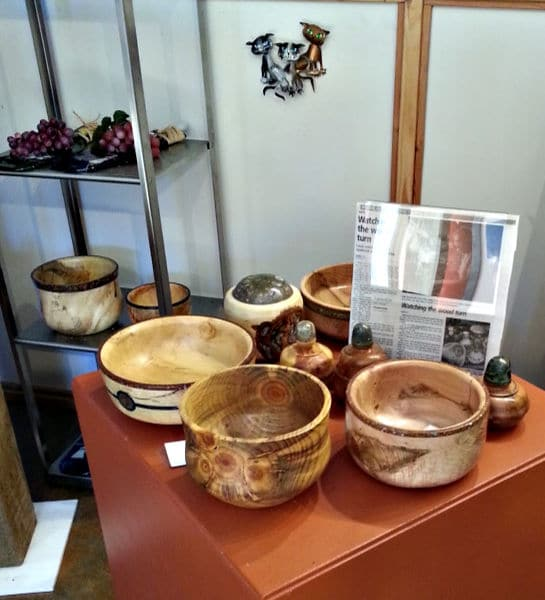 Alex's turned wooden bowls