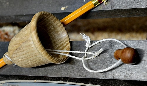 How to tie the string in your bell